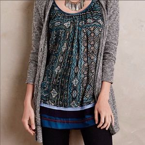 Anthropologie One September Caldera Tunic Tank